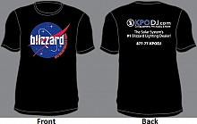 Blizzard Lighting / KPODJ Black T-Shirt