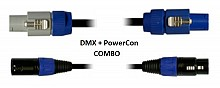 Blizzard Lighting DMXPC-10 (10ft DMX + PowerCon Combo Cable)