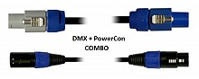 Blizzard Lighting DMXPC-3 (3ft DMX + PowerCon Combo Cable)