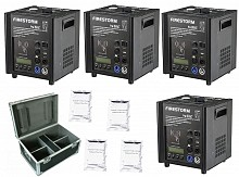 JMaz FireStorm F3 Package - 4x Cold Spark Machines, 4x 200g Powder, 1x Case
