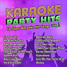 Karaoke Music Karaoke Party Hits Vol. 1 (digital download)